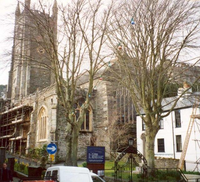 St Finbar's Church, Fore Street, Fowey