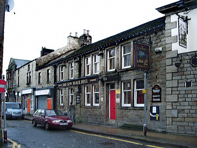 The New Black Bull, Mill Street, Padiham