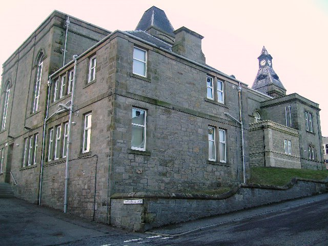 The Town Hall at Lossiemouth