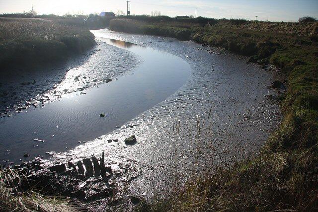 River Ore backwater