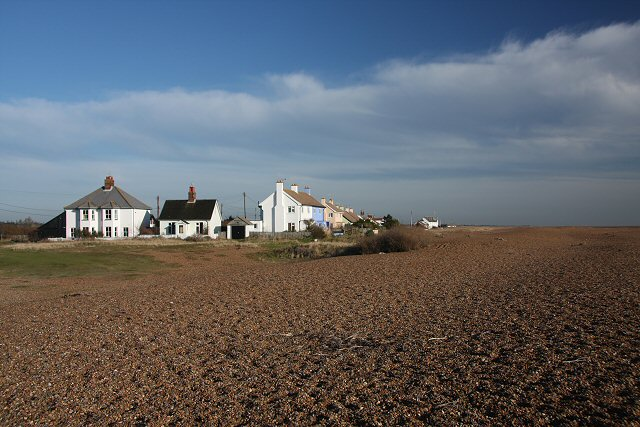 Houses at Shingle Street