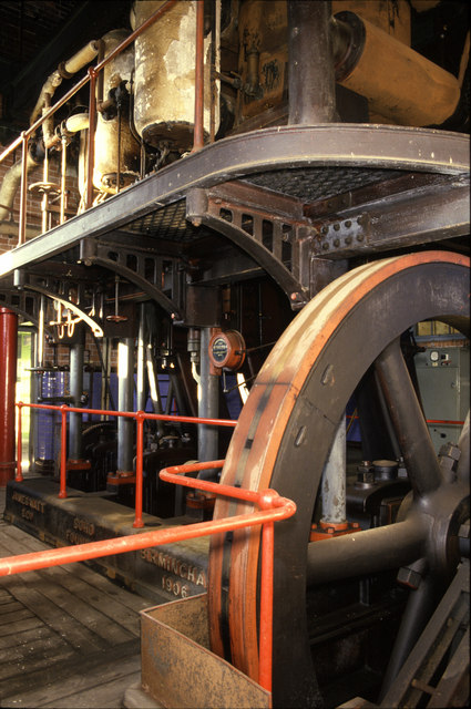 Steam pumping engine, Brayton Barff