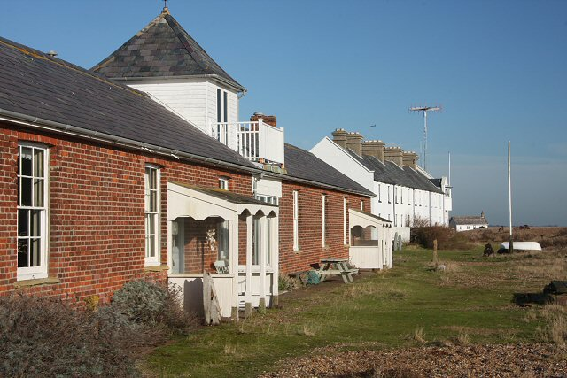 'The Mansion' and Coastguard cottages