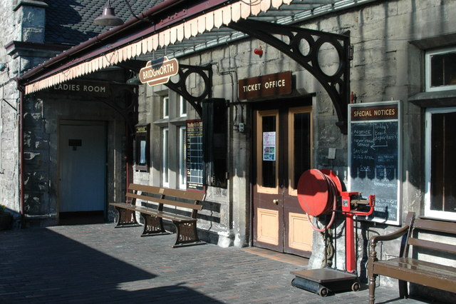 SVR Bridgnorth, Ticket Office entrance