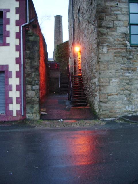 Alley way off Ightenhill Street, Padiham