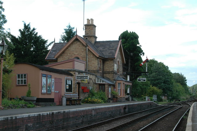 Hampton Loade SVR Station
