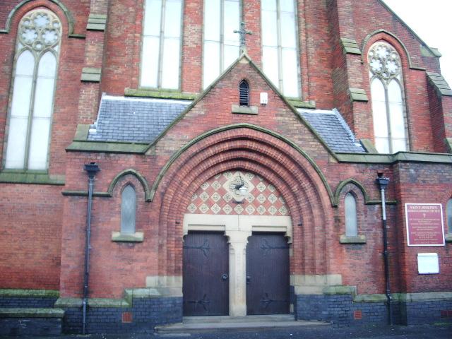 St Joseph's Roman Catholic Church, Preston, Doorway