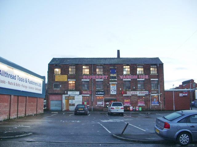 """Superpet Warehouse"", Crook Street, Preston"