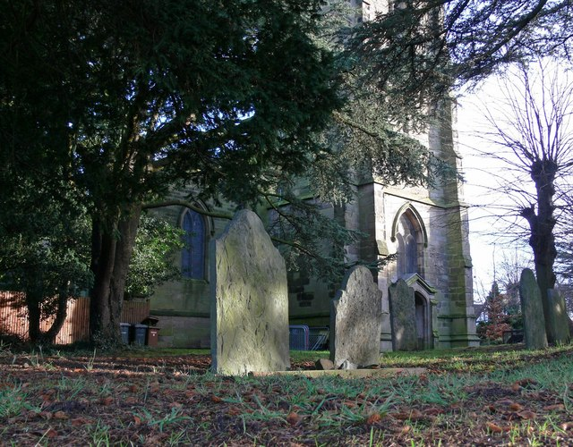 St Catherine's Church and graveyard, Burbage