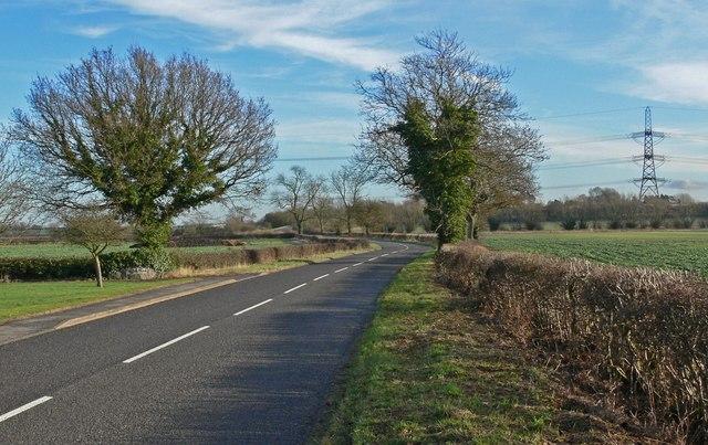 Aston Lane towards Aston Flamville