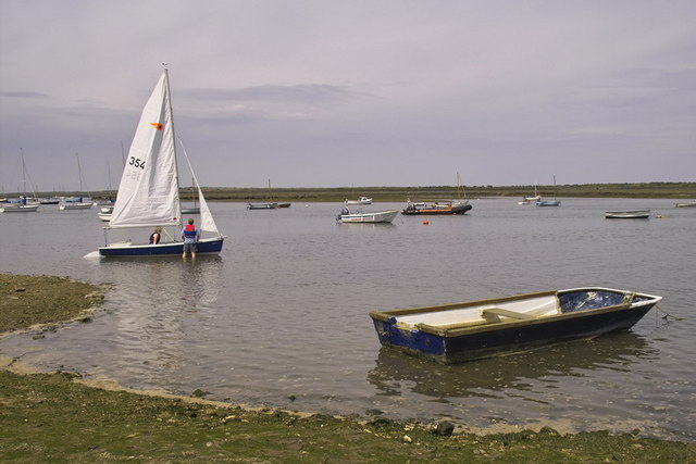 Sailing at Brancaster Staithe