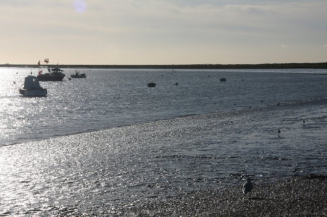 Low tide at Orford