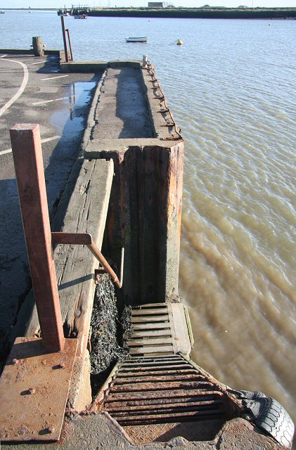 Landing steps at Orford Quay