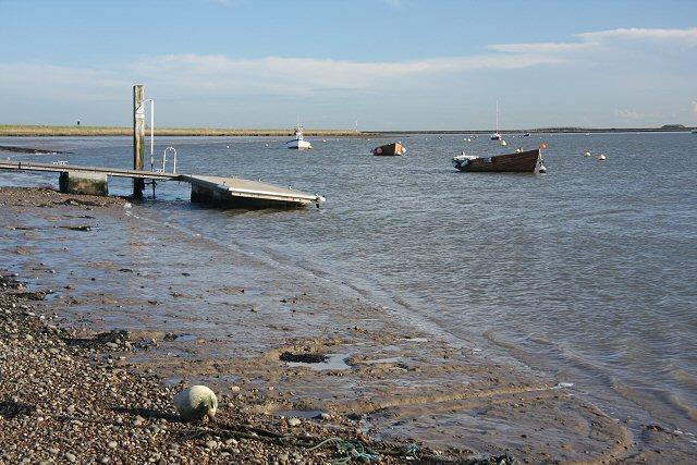 Orford Sailing Club landing stage