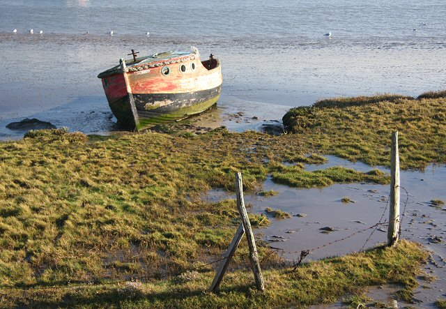 Old boat at Orford