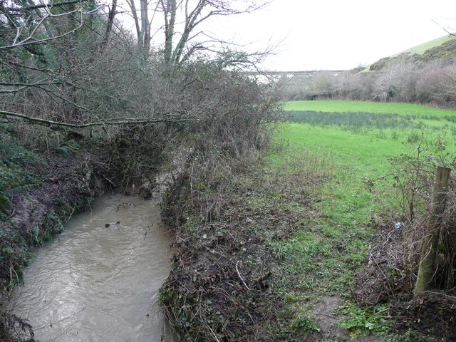 Stream in the Kenwith valley