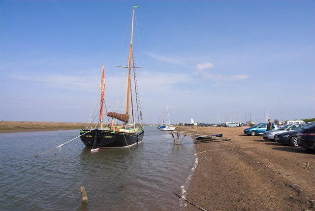 Blakeney Harbour Boat