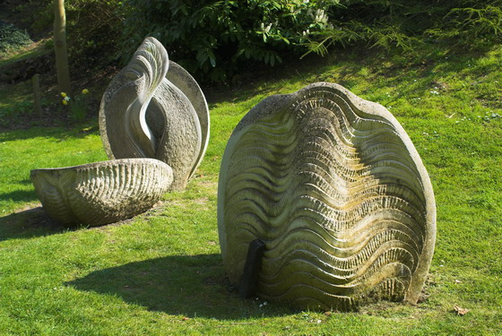 Burghley House Gardens and Artwork