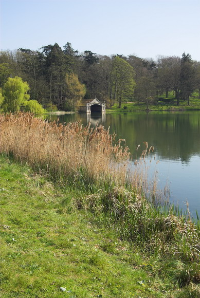 Burghley House Grounds and Lake