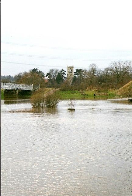 Trent flood 1999