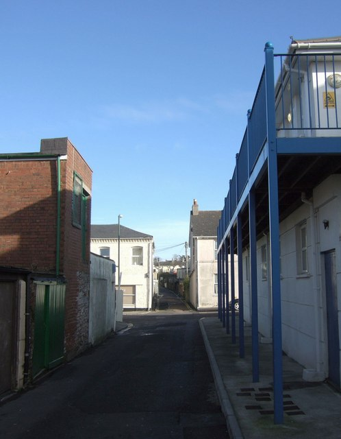 Alley in Plainmoor