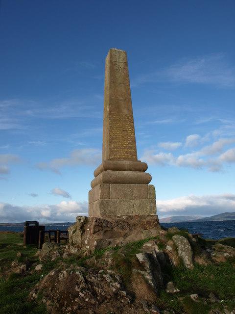 Tomont End Monument, Great Cumbrae Island.