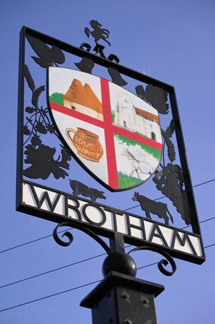 Wrotham Village Sign