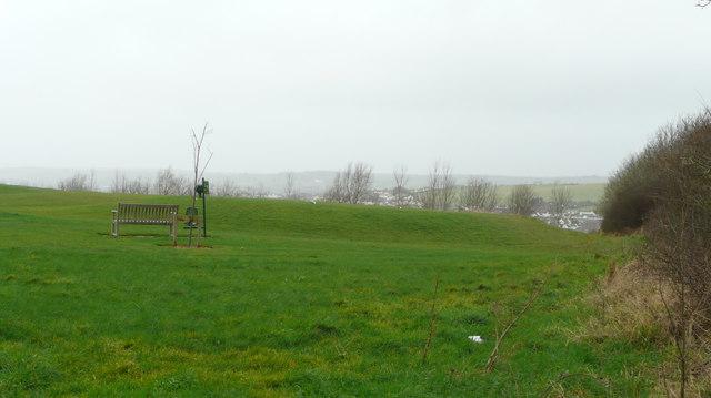 A corner of Portmore Golf Park