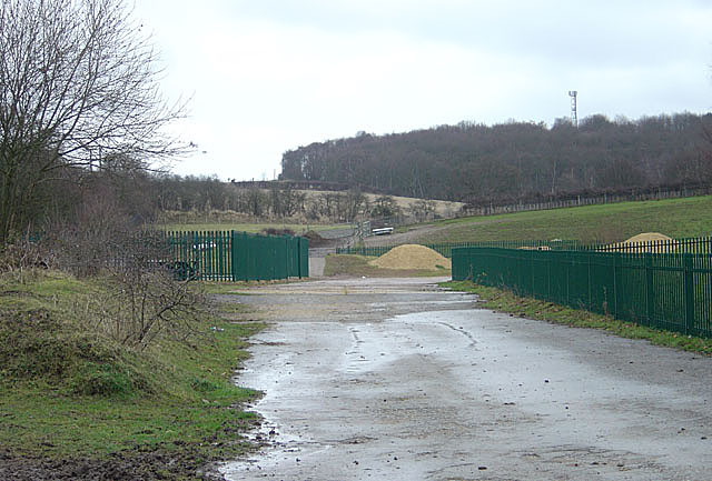 Landfill site, Bestwood Village