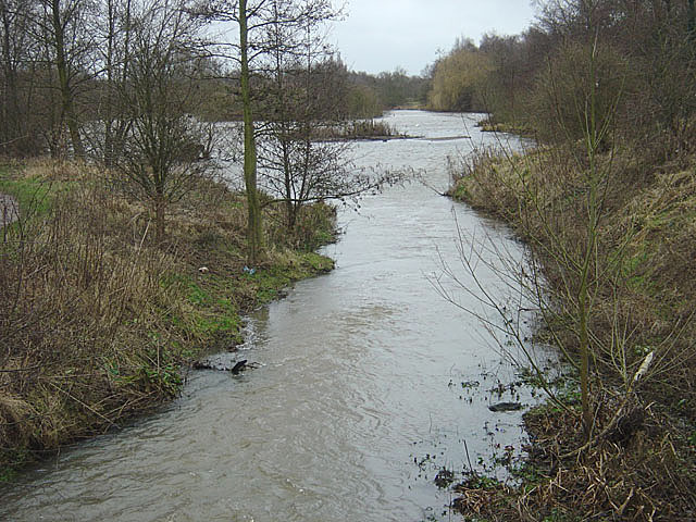 Bestwood Country Park - the River Leen