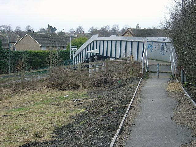 Footbridge at Butlers Hill