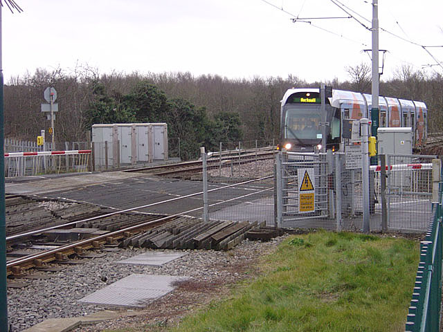Level crossing at Butlers Hill