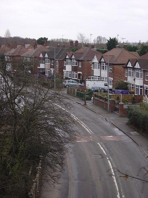Moor Road, Bestwood Village