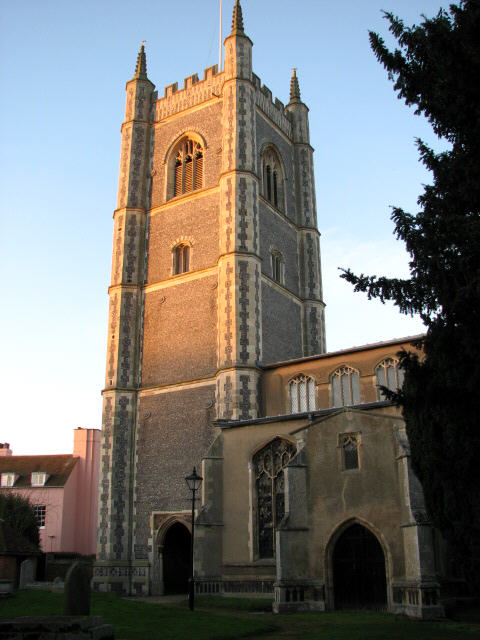St Mary's church - tower
