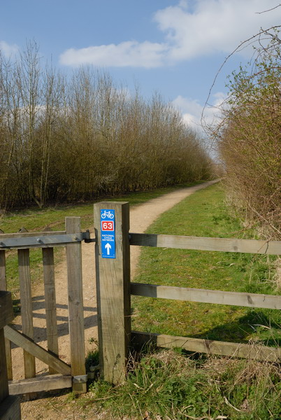 National Cycle Network Route 63 Gate