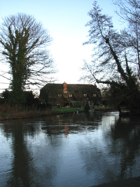 View towards Granary Barn