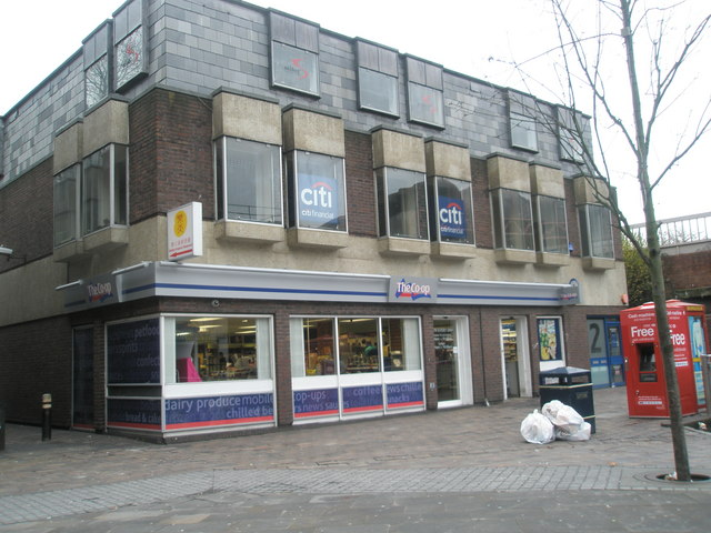 Co-Op near Guildhall Square