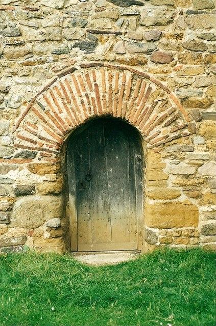 All Saint's church tower doorway