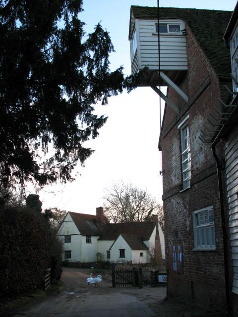 Past Flatford Mill