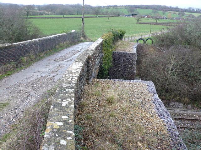 Rural railway bridge
