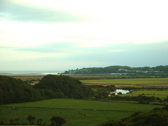 Looking southwest from Hir Ynys