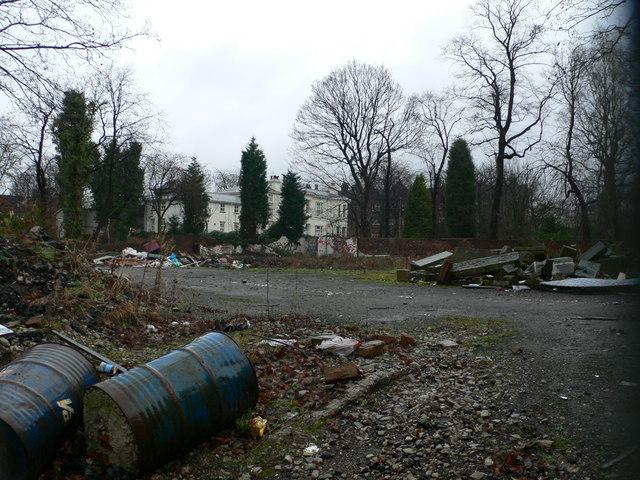Waste ground, Upper Park Road, Rusholme