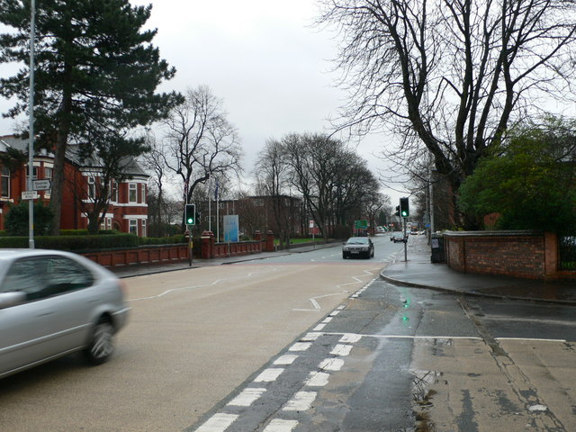 Junction of Anson Road and Denison Road, Rusholme