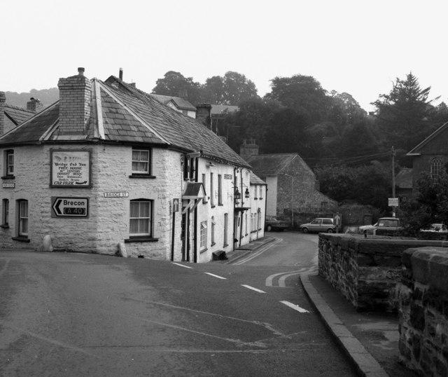 The 'Bridge End' Inn, Crickhowell