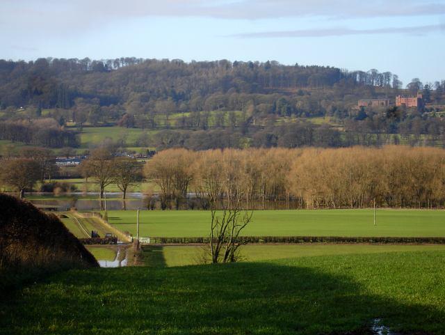 The Severn flood plain