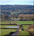 SJ2305 : The Severn in flood by Penny Mayes