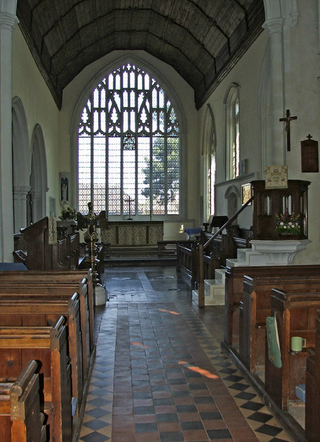St Mary's Church, Cavendish, Suffolk