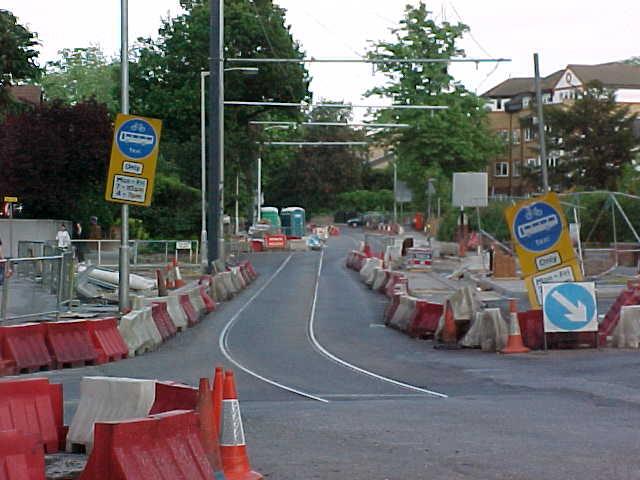 Tramlink Construction, Addiscombe Road, Croydon