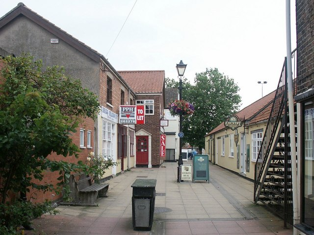 College Yard, Brigg