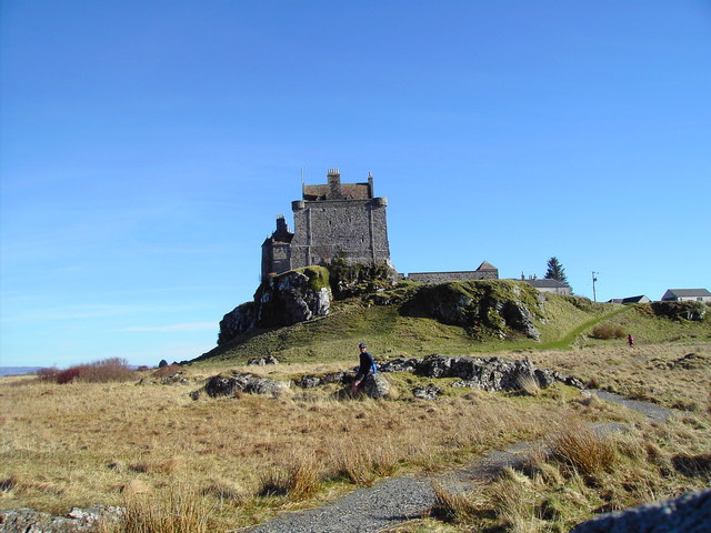 Duart  Castle from the North
